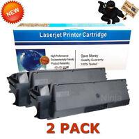2PK Compatible TK-592K Black Toner Cartridges For Kyocera Mita FS-C2026 FS-C2126