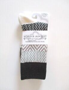World's Softest Socks - Weekend Collection - Nightfall - Crew Length - NEW