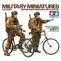 Tamiya 35333 British Paratroopers & Bicycles Set 1/35
