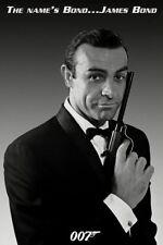 JAMES BOND - THE NAME'S BOND 007 POSTER (91x61cm)  NEW LICENSED ART