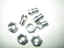 4 x cycle mudguard eyelet bolts and nuts for fitting cycle mud guards