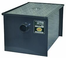 40 pound steel grease trap