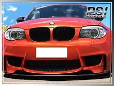 DP Style Carbon Fiber Front Bumper Add-On Lip for BMW E82 E88 M-Tech 128i 135i