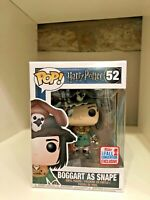 BOGGART AS SNAPE NYCC 2017 CONVENTION EXCLUSIVE FUNKO POP HARRY POTTER #52 NEW