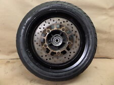2008 YAMAHA CP250 MORPHOUS FRONT WHEEL RIM TIRE DUNLOP 120/70-13 WITH BRAKE DISC