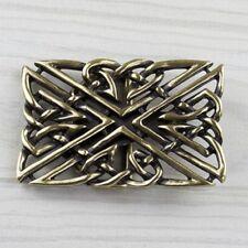 Keltische Gürtelschnalle Herz Knoten Cutout Messing Buckle Belt Wechselschließe