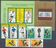 Fútbol-WM 1982, soccer-bulgaria-lot ** mnh