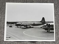 Lockheed L-188A Electra Air California Vintage 8x10 Photo Aviation Black White