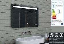 Design Badezimmerspiegel mit Dimmer Warm- & Kaltweiß & Touchschalter 100 x 65 cm