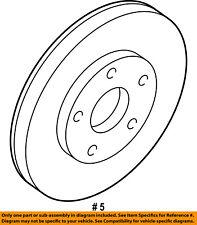 CHRYSLER OEM Front Brake-Disc Rotor 4879138AE