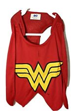 DC Comics Size Small Med Wonder Woman Dog Pet Harness With Cape  NWT costume