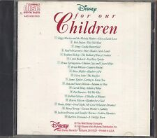 For our Children - ZIGGY MARLEY BOB DYLAN ELTON JOHN CD 1991 NEAR MINT CONDITION