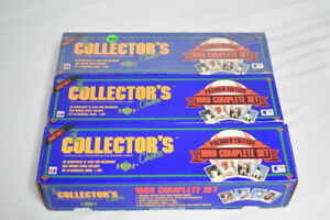 Lot (3) 1989 Upper Deck Baseball Complete Factory Sets Sealed Griffey RC AG267
