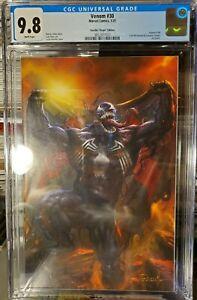Venom 30 CGC 9.8 Lucio Parrillo Virgin Variant Cover Edition Scorpion Comics 🔥