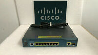 Cisco WS-C3560-8PC-S 8 Ethernet 10/100 ports, 1 dual-purpose 10/100/1000 Switch