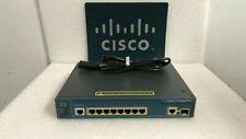 Cisco WS-C3560-8PC-S 8 Ethernet 10/100 ports, 1 dual-purpose 10/100/1000 Switch