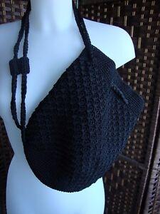 sac fourre-tout porté épaule en coton fait main au crochet