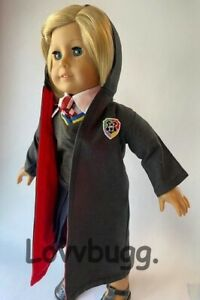 """BEST Hermione Hogwarts PATCH Uniform for American Girl 18"""" Doll Cloths Costume🐞"""