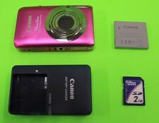 Canon PowerShot ELPH 100 HS 12.1 MP Digital Camera - Pink