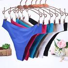 Women Ladies G-string Briefs Panties Seamless Thongs Lingerie Soft Underwear