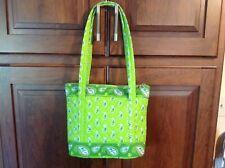 Designer Look, Lime Green Paisley Designed Handbag/Purse NWOT!