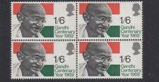 (49026) GB MNH Gandhi block 1969 unmounted mint