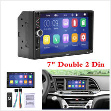 """New listing 2 Din 7"""" Touch Screen Car Stereo Radio Mp5 Fm Player Aux Android/Ios Mirror Link"""