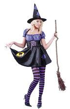 Disfraz bruja hechicera halloween barato mujer