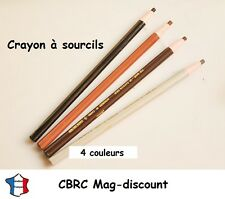 Crayon à sourcils waterproof 4 couleurs