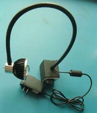 5W CNC MACHINE EM WORK LIGHT LAMP LED WITH GOOSENECK ARM 110V INDUSTRIAL LIGHT