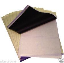 DCtattoo - 25 x Tattoo Thermal Carbon Stencil Transfer Paper Tracing Kit A4