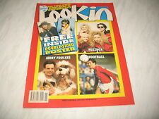 Look-In magazine Junior TV Times 1989 8 April No. 15 complete Fuzzbox poster
