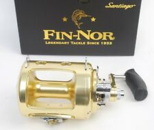 Fin-Nor Santiago SA50W Lever Drag 2-Speed Saltwater Fishing Reel, NEW in Box