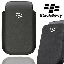 Blackberry Pocket Pouch Case for Blackberry Bold 9900 Leather Sleeve Tough Cover