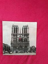 carte postale musicale 45 tours:MUSIKART /NOTRE DAME DE PARIS /glacée