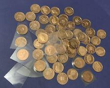 58 x date d'exécution entre 1982 - 1999 1p One Pence Coin bunc ou la preuve de Set PP69