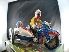 MS 709 motorcycle sidecar jouet en tôle et moteur à clef made in China