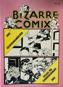 Bizarre Comics Nr. 8 - Stanton - 2 Folgen - Comics für Erwachsene