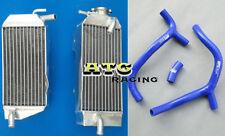 Aluminum Radiator & hose Honda CRF450 CRF450R CRF 450 R 2009 2010 2011 09 10 11
