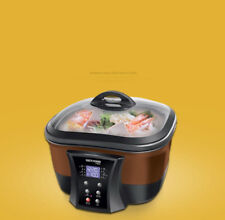 Coffee Electric Food Steamer Deep Fry Cooker Multi-function Cooking Pot ' #