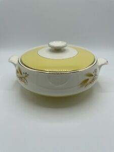 Autumn Gold by Century Service Covered Vegetable Casserole Dish