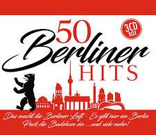 CD 50 Berliner Hits de Varios Artistas 3CDs