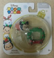 Tsum Tsum Minnie Mouse Disney New Holiday Christmas Ornament Stackable Pack 2016