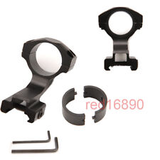Aluminium Cantilever 25.4mm/30mm Ring Scope Mount 20mm Picatinny Rail for Rifle