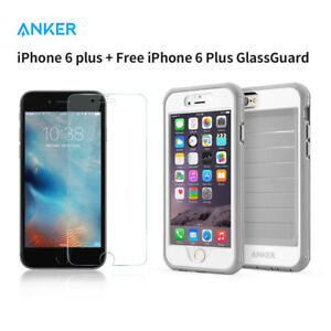 Case Ultra Protective Case Anker iPhone 6s Plus Built-in Clear Screen Protector