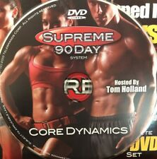 Supreme 90 Day Workout System DVD -CORE DYNAMICS Replacement Disc ONLY #70A