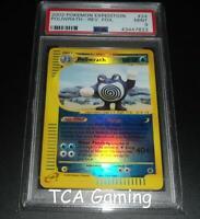 PSA 9 MINT Poliwrath 24/165 Expedition Base Set REVERSE HOLO Pokemon Card
