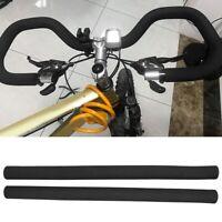 1 Pair Bicycle Road Bike Rough Tube Sponge Foam Soft Handlebar Grips Cover Plug