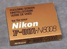NIKON F-801 N8008 N8008S FOCUSING SCREENS, YOUR CHOICE $16.99 FREE USA SHIPPING