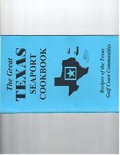 TEXAS SEAPORT cookbook tex mes sauces crab cajun desserts meat rare